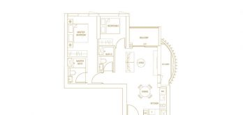 Klimt-Cairnhill-Floor-Plan-2-bedroom-prime-b1-singapore