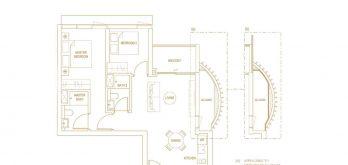 Klimt-Cairnhill-Floor-Plan-2-bedroom-prime-b2-singapore