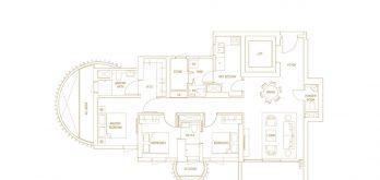 Klimt-Cairnhill-Floor-Plan-3-bedroom-premium-c3-singapore