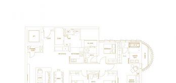 Klimt-Cairnhill-Floor-Plan-4-bedroom-deluxe-D1-singapore