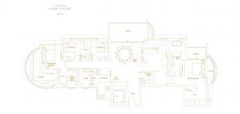 Klimt-Cairnhill-Floor-Plan-4-bedroom-prestige-D4-singapore